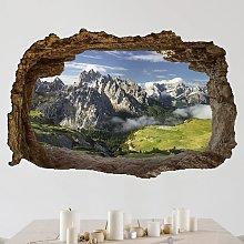 Adesivo murale 3D - Italian Alps - orizzontale 2:3