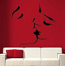 Adesivo murale 3D Kiss Romantic for Livingroom