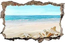 Adesivo murale 3D,lago,decorazione murale per