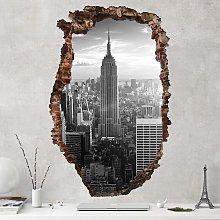Adesivo murale 3D - Manhattan Skyline - verticale