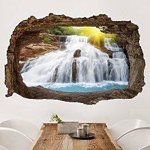 Adesivo murale 3D - Morning In Paradise -
