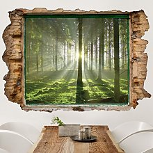 Adesivo murale 3D - Spring Fairytale - orizzontale