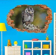 Adesivo murale 3D Uccelli selvatici Bellissimo