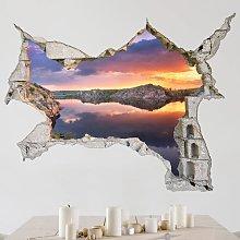 Adesivo murale 3D - Wonderful Landscape Dimensione