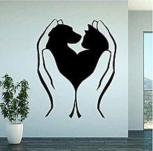 Adesivo murale 40,2 cm * 50 cm moda amore miei