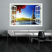 Adesivo murale 60×90cm Parigi Francia Paesaggio