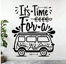 Adesivo murale adesivo creativo da viaggio per