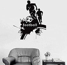 Adesivo Murale Adesivo Giocatore Di Calcio Adesivo