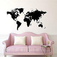 Adesivo murale Adesivo Mappa del mondo Casa