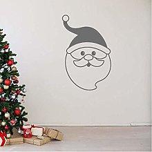 Adesivo Murale Adesivo Murale Babbo Natale Adesivo