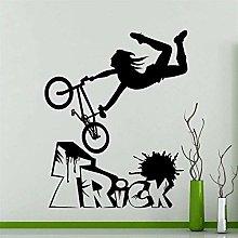 Adesivo Murale Adesivo Murale Bike Freestyle Trick
