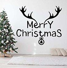 Adesivo Murale Adesivo Murale Buon Natale Con