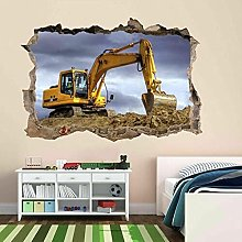 Adesivo Murale Adesivo Murale Per Escavatori Per