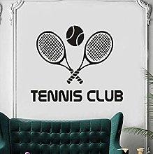 Adesivo Murale Adesivo Murale Pvc Tennis Club Wall