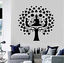 Adesivo Murale Albero Adesivo Murale Meditazione