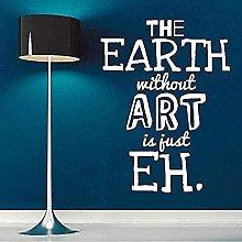 Adesivo Murale Art Design Murale Art Earth Carta