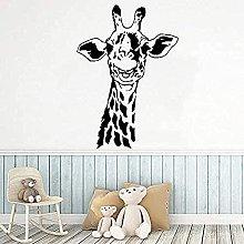 Adesivo murale Art Giraffa Animale Decorazione