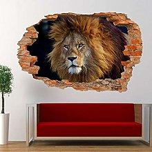 Adesivo murale aspetto 3D tatuaggi 60×90cm GRANDI