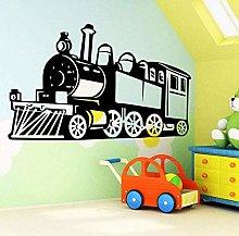 Adesivo murale bambino camera da letto treno