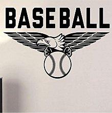 Adesivo Murale Baseball Adesivo Per Finestra Auto