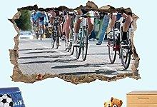 Adesivo Murale Bicicletta Da Corsa Bicicletta