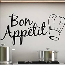 Adesivo Murale Bon Appétit Wall Stickers per