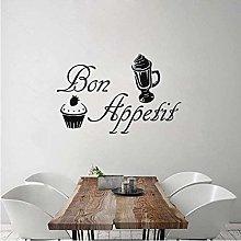 Adesivo murale Bon Appetite Vinile rimovibile