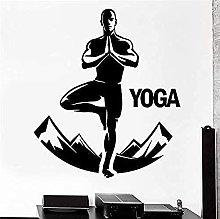 Adesivo murale Buddha Yoga Studio Catena montuosa