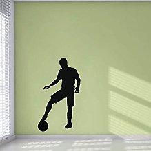 Adesivo Murale Calcio Pvc Soggiorno Camera Da