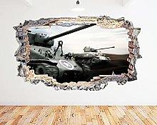 Adesivo murale Carro armato N706