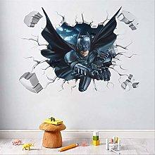 Adesivo Murale, Cartoon Boy'S Hero Batman
