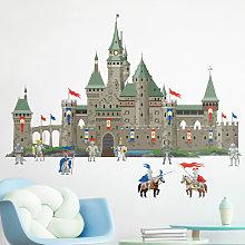 Adesivo murale - Castello del Grande Cavaliere di