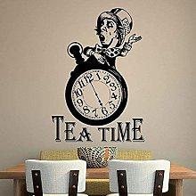 Adesivo murale Citazione Tea Time Quotes Wall