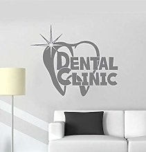 Adesivo Murale Clinica Dentale Decorazione Murale