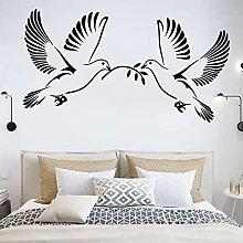 Adesivo murale colomba Colomba della pace