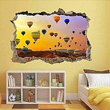 Adesivo murale con mongolfiere Adesivo murale