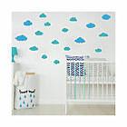 Adesivo murale con nuvole personalizzato per