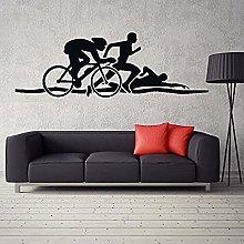 Adesivo murale Creativo PVC Adesivo Triathlon