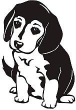 Adesivo Murale Cucciolo Beagle Adesivo Murale In