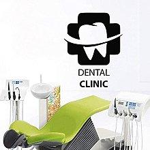 Adesivo murale Cura dentale Dentista Sorriso