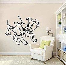 Adesivo murale Dalmata Decal per cameretta Adesivo