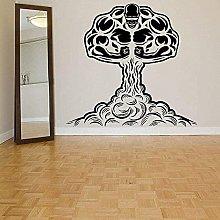 Adesivo Murale Decal Art Palestra Eruzione