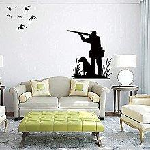 Adesivo murale Decalcomania Bird Dog Impermeabile