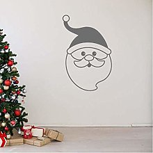 Adesivo Murale Decalcomania Murale Babbo Natale