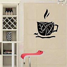 Adesivo Murale Decalcomania Murale Tazze Da Tè