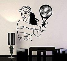 Adesivo murale Decalcomania sportiva da tennis