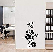 Adesivo murale decalcomanie creative fiori moderni