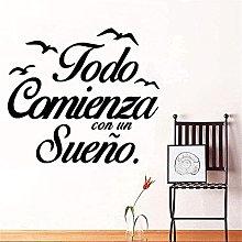 Adesivo Murale Decorativo Murale Camera Dei