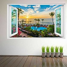 Adesivo Murale Decorativo Murale Con Paesaggio Con