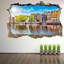 Adesivo Murale Decorativo River Wall Art Con